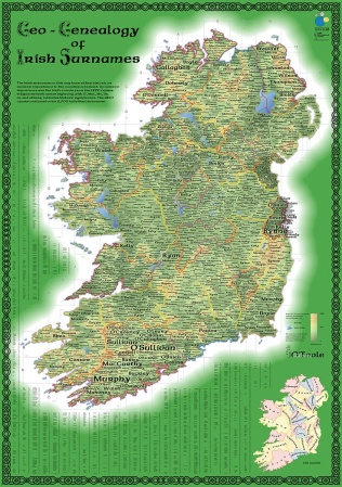Geo-Genealogy of Irish Surnames