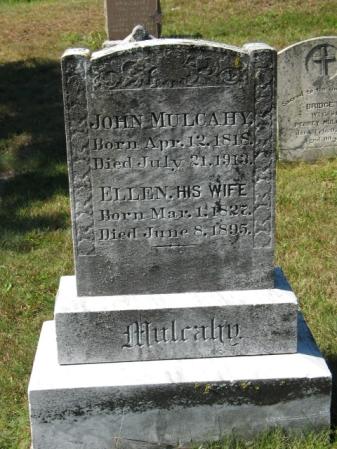 John Mulcahy & Ellen Donovan Headstone