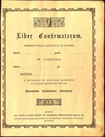 1905 Liber Confirmatarum