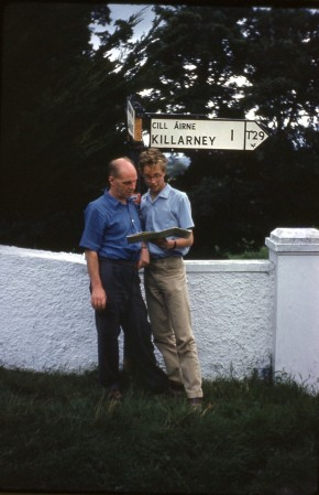 1961 Gordon & John Parker near Killarney