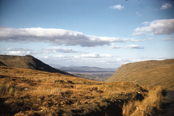 1961 Looking east from Glengesh, Co. Donegal