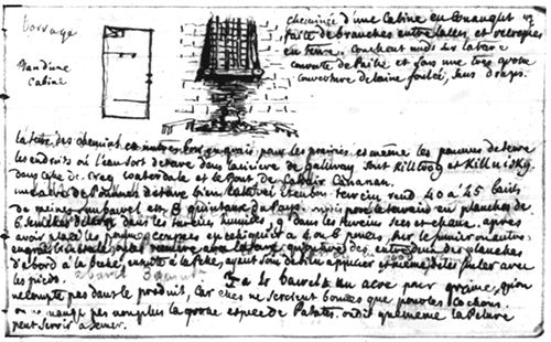 cabin plan in French